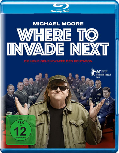 Where to Invade Next Michael Moore BR