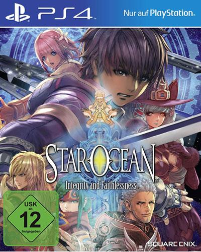 Star Ocean  PS-4 Integrity & Faithl. Integrity & Faithlessness