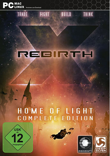 X Rebirth  PC  + Home of Light (OR) Version 4.0