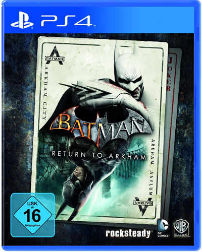 Batman   Return to Arkham  PS-4 HD Collection  Arkham Asylum & City