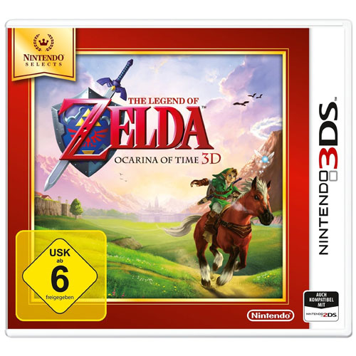Zelda  Ocarina of Time  3DS SELECTS