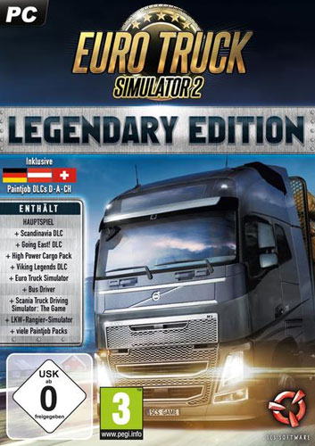 Euro Truck Simulator 2  PC Legendary Ed.