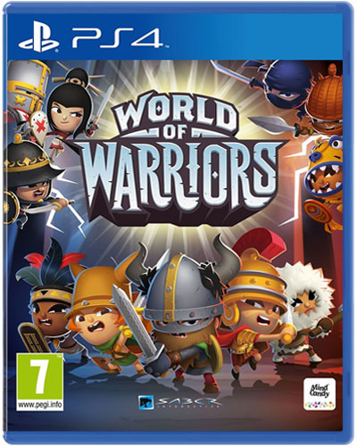 World of Warriors  PS-4  PEGI