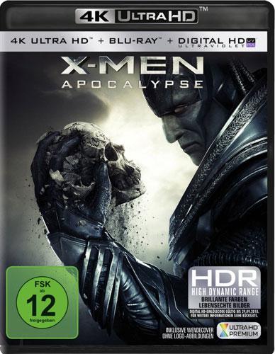 X-Men 6 - Apocalypse (UHD+BR)4K Ultra HD Min: /DD5.1/WS     2Disc