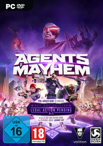 Agents of Mayhem  PC  D1