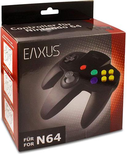 N 64 Controller schwarz  NEU