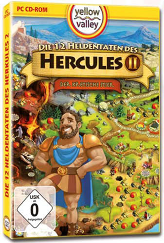 12 Heldentaten des Herkules 2  PC BUDGET Der kretische Stier Yellow Valley