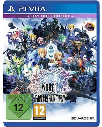 FF World of  PSV World of Final Fantasy