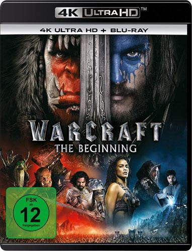 Warcraft: The Beginning (UHD+BR) 2Disc Min:  /DD5.1/WS