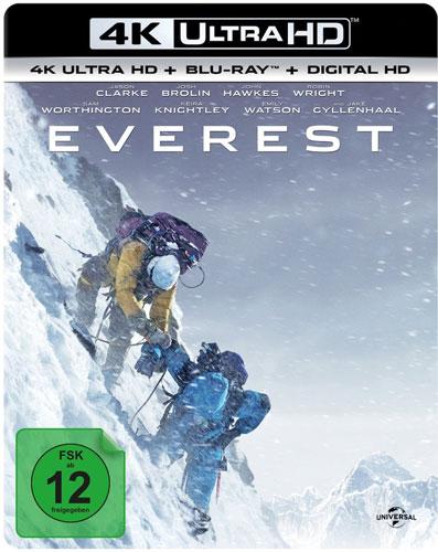 Everest  (UHD+BR)  2015, 2Disc Min: 121/DD5.1/WS