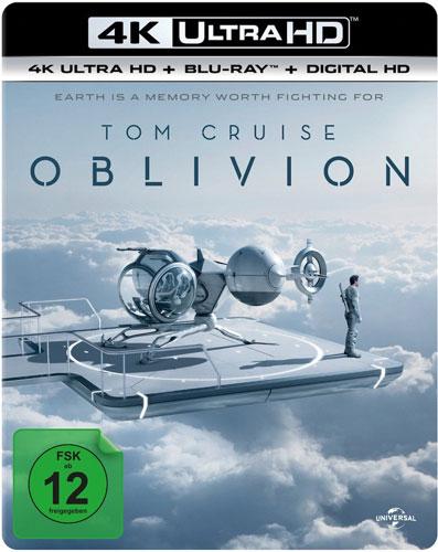 Oblivion (UHD+BR)  2Disc Min: 125/DD5.1/WS