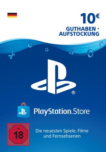 PSN Code  10  Euro Code wird als PDF Datei geliefert PlayStation Network