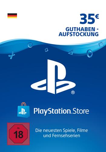 PSN Code  35  Euro Code wird als PDF Datei geliefert PlayStation Network