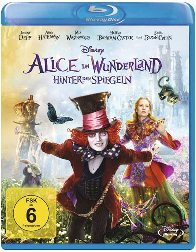 Alice im Wunderland #2 (BR) Hinter den Spiegeln, Min: 113/DD5.1/WS