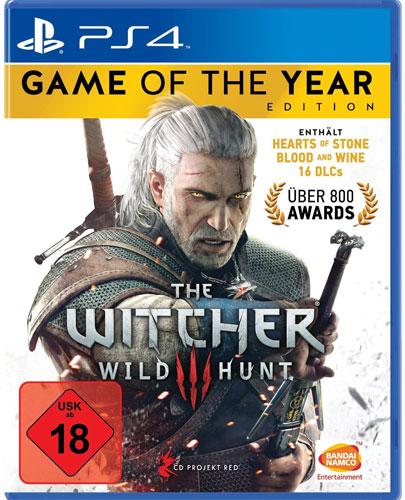 Witcher 3  PS-4  Wild Hunt  GOTY