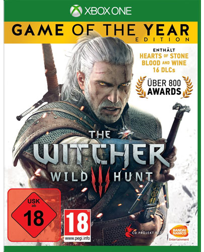 Witcher 3  XB-One  Wild Hunt  GOTY