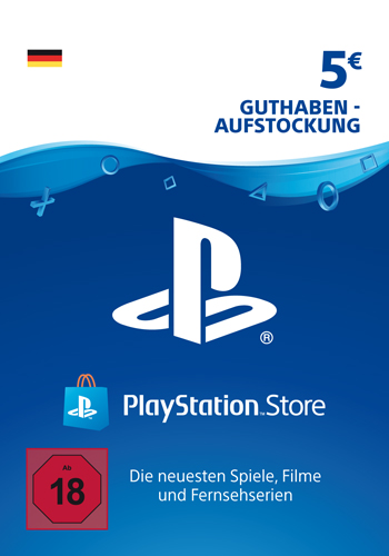 PSN Code  5  Euro Code wird als PDF Datei geliefert PlayStation Network