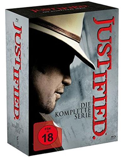 Justified - kompl. BOX Die komplette Serie BR