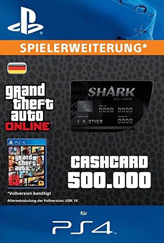 ESD GTA Bull Shark Card PS-4 Code wird als PDF Datei geliefert 500.000 GTA-Dollar