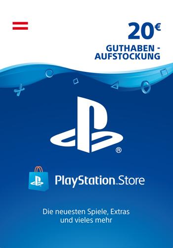 PSN Code 20  Euro AT Code wird als PDF Datei geliefert PlayStation Network