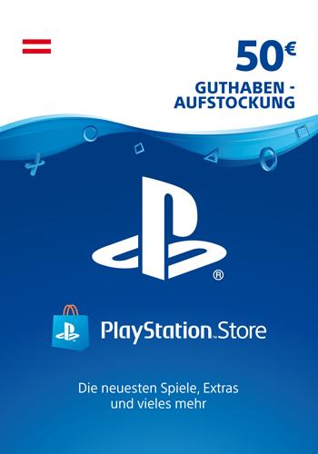 PSN Code  50  Euro AT Code wird als PDF Datei geliefert PlayStation Network
