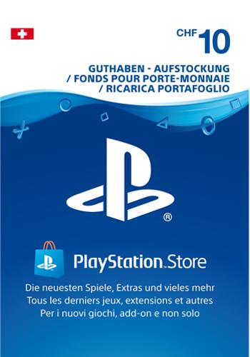 PSN Code  10 CHF Code wird als PDF Datei geliefert PlayStation Network