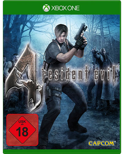 Resident Evil  4  XB-One  HD