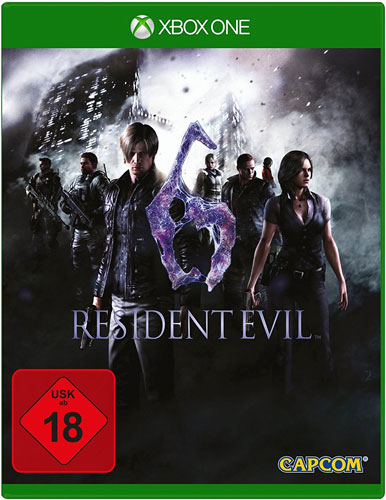 Resident Evil  6  XB-One  HD