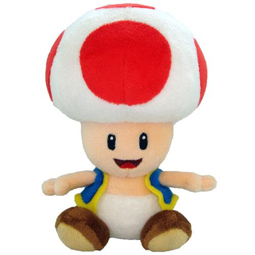 Merc Nintendo Plüsch Toad 17cm