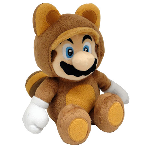 Merc Nintendo Plüsch Tanooki Mario 22cm