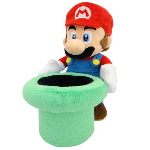 Merc Nintendo Plüsch Mario mit Rohr 26cm