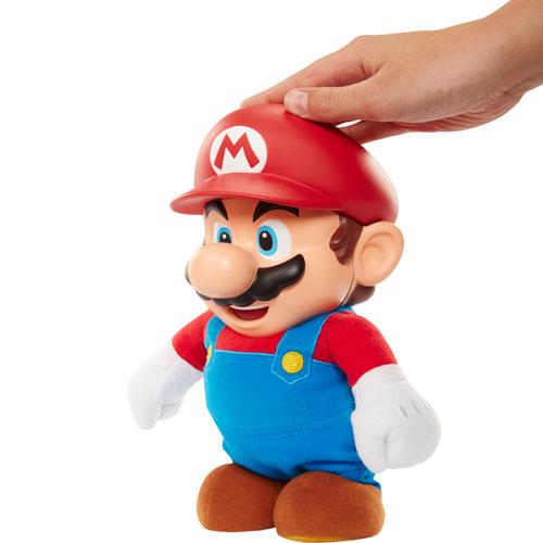 Merc Nintendo Mario 30cm plüsch/plastik mit Sound und Funktion