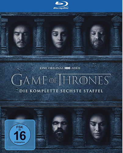 Game of Thrones - kompl. Staffel 6 (BR) 4Discs