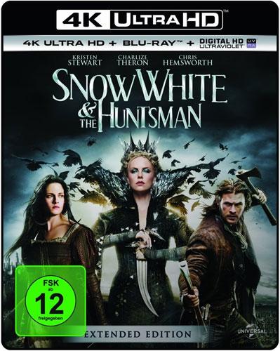 Snow White & the Huntsman (UHD+BR) 4K Min: 131/DD5.1/WS