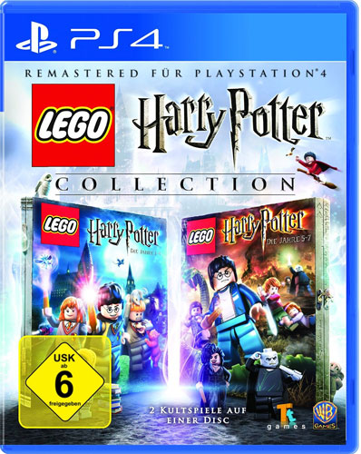Lego Harry Potter Collection HD Remastered   Jahre 1-7 PS-4