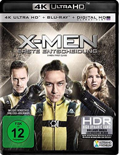X-Men 4 - Erste Entscheidung (UHD+BR) 4K Min: 131/DD5.1/WS   2Disc