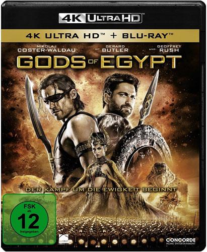 Gods of Egypt (UHD) 4K Ultra Min: 127/DD5.1/WS