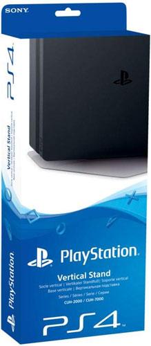 PS4  Standfuß vertikal SLIM org. black auch für Pro Konsole geeignet
