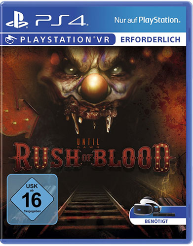 VR Until Dawn: Rush of Blood  PS-4 VR wird benötigt