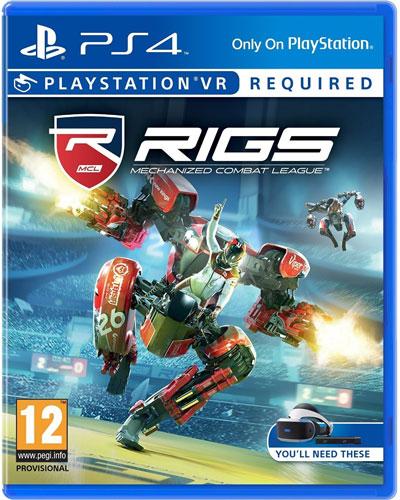 VR RIGS: Mechanized Combat League  PS-4 VR wird benötigt   PEGI
