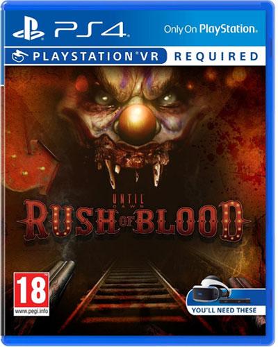 VR Until Dawn: Rush of Blood  PS-4  PEGI VR wird benötigt