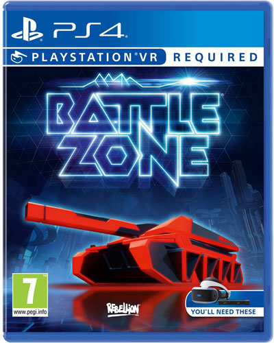 VR Battlezone  PS-4  PEGI VR wird benötigt