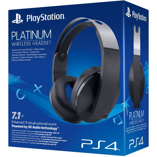 PS4  Headset org. Platinum wireless