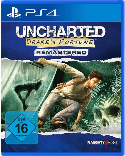 Uncharted 1 HD Remastered Drakes Schicksal PS-4