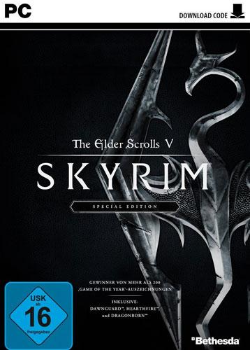 Skyrim  PC  S.E.   Code in Box inkl 3 DLC  The Elder Scrolls