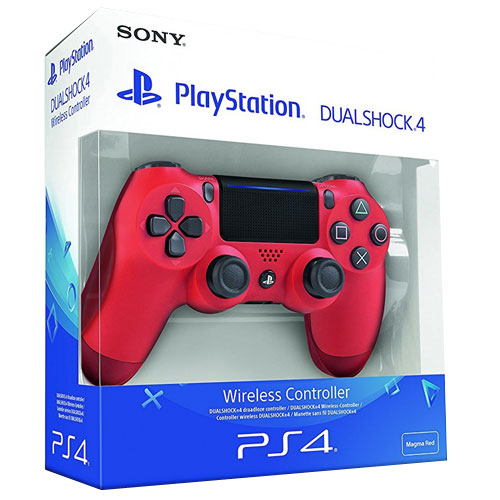 PS4  Controller org. Magma Red V2 wireless Dual Shock 4 UN 3481 Li-ion batteries contained in equipment