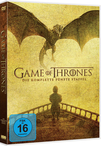 Game of Thrones - kompl. Staffel 5 (DVD) 5DVDs, Neuauflage