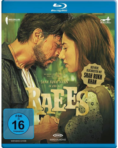 Raees Shah Rukh Khan Rapid Eye Movies BR