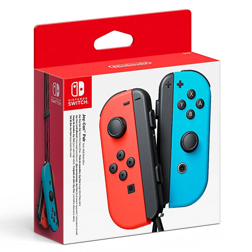 Switch  Controller Joy-Con 2er neon rot Nintendo +blau