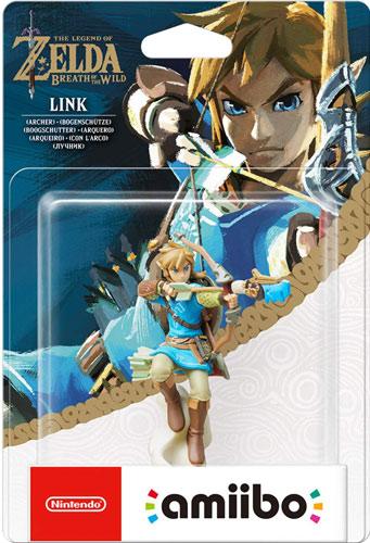 Amiibo Zelda  Link Bogenschütze (Breath.
